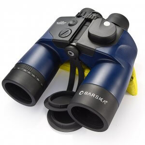 7x50mm WP Deep Sea Range Finding Reticle Digital Compass Binoculars