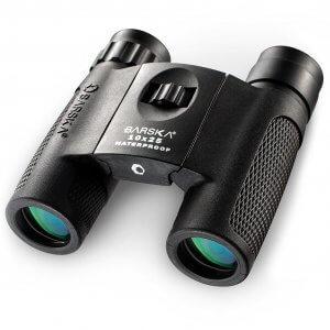 10x25mm WP Compact Blackhawk Binoculars by Barska