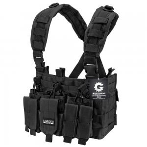 Tactical Chest Rig VX-400 Loaded Gear Black