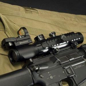 1-3x30mm IR Electro Sight Multi-Rail Tactical Rifle Scope By Barska