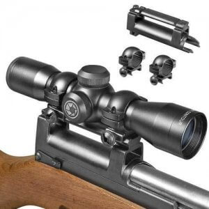 4x32mm Contour SKS Rifle Scope w/ Base and Rings by Barska