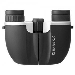 10x21mm Buleline Compact Ruby Lens Binoculars by Barska