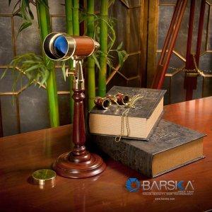 15-45x50mm Anchormaster Classic Brass Spyscope by Barska