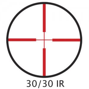 4x32mm IR Plinker-22 Rifle Scope with Rings by Barska