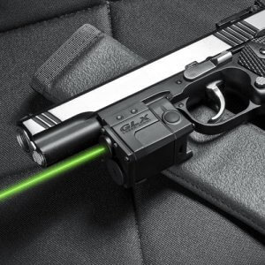 Green Micro GLX Laser Sight by Barska