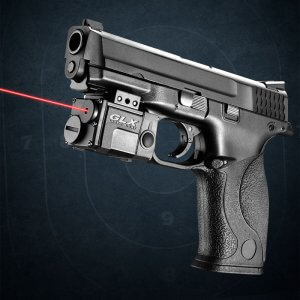 Red Micro GLX Laser Sight by Barska