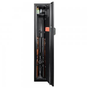 HQ800 Standard Quick Access Keypad Biometric Rifle Safe by Barska