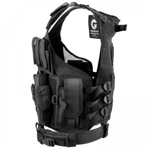 Loaded Gear Tactical Vest VX-200 (Black) Right Hand
