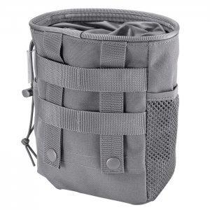 Gray Loaded Gear Tactical Dump Pouch