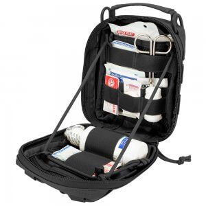 Loaded Gear CX-900 First Aid Utility Pouch (Black) By Barska