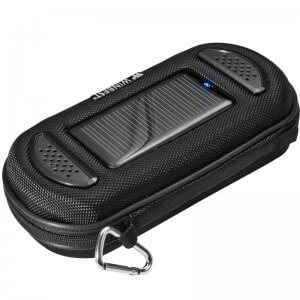 Portable Solar Charger Case with Speaker