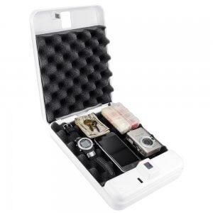 iBOX Portable Biometric Lock Box By Barska