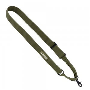 Loaded Gear CX-100 OD Green Tactical Single Point Rifle Sling By Barska