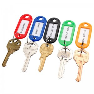 Assorted Key Tags 50 Pack For key Cabinets