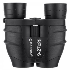 9-27x25mm Gladiator Compact Zoom Binoculars by Barska