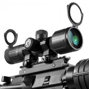 3-9x40mm IR Contour Rubber Armored Rifle Scope by Barska