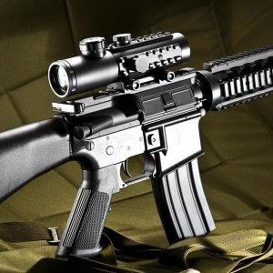 4x30mm IR Electro Sight Multi-Rail Tactical Rifle Scope By Barska