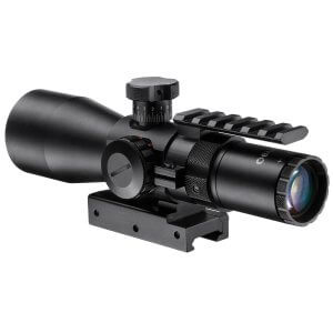 3-9x42mm IR Contour Rifle Scope w/ Accessory Rail Mount
