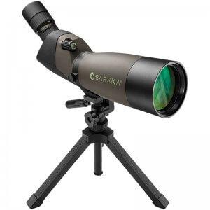 20-60x80mm WP Blackhawk Spotting Scope Angled By Barska