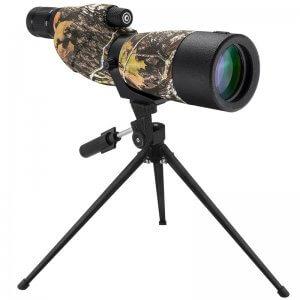 20-60x65mm WP Level Straight Mossy Oak® Break-Up® Camo Spotting Scope By Barska