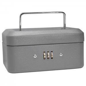 Extra Small Cash Box with Combination Lock