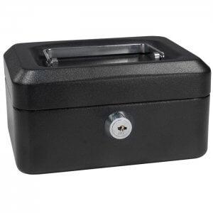 Extra Small Cash Box with Key Lock by Barska