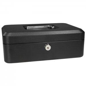 Small Cash Box with Key Lock by Barska
