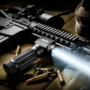260 Lumen LED Tactical Flashlight FLX Foregrip By Barska