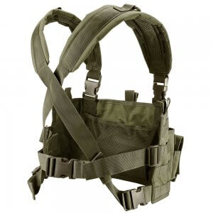 Tactical Chest Rig VX-400 Loaded Gear (OD Green)
