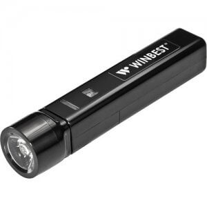 Portable USB Device Charger with Flashlight