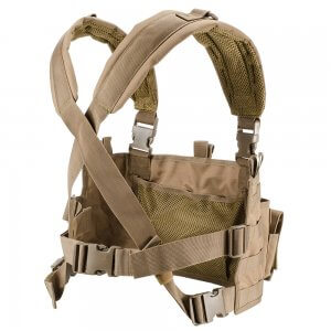 Tactical Chest Rig VX-400 Loaded Gear Tan (Flat Dark Earth)