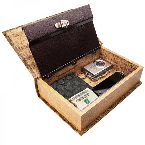 Antique Map Book Lock Box Lock Boxes Safes Security Barskacom - Antique map box