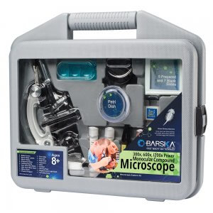 Microscope Kids Kit with Carrying Case by Barska