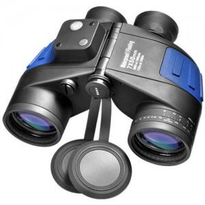 7x50mm WP Deep Sea Floating Range Finding Reticle Binoculars