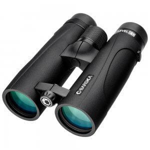 BARSKA 10x 42mm WP LEVEL ED Open Bridge Binoculars Black AB12804