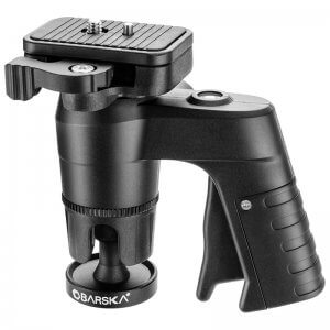 Pistol Grip Tripod Head by Barska