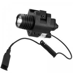 Red Laser with 200 Lumen Flashlight By Barska