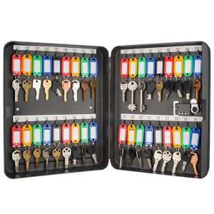 36 Position Key Cabinet with Combination Lock