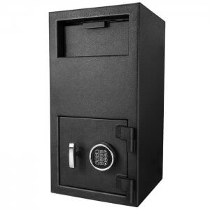 "BARSKA DX-300 Large Depository Keypad Safe 14x14x27"" AX12590"