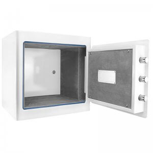 White Keypad Jewelry Safe, 1.01 Cubic Ft