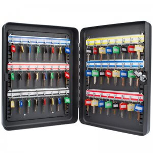 48 Position Key Cabinet with Key Lock