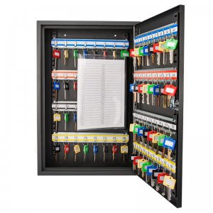 64 Position Key Cabinet with Key Lock