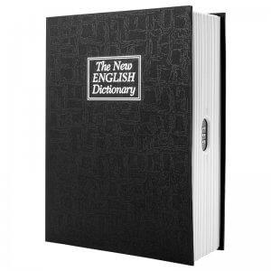 Dictionary Book Lock Box with Combination Lock CB12498