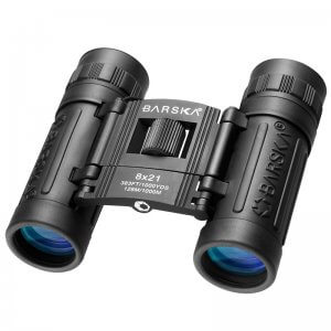 8x21mm Lucid View Compact Binoculars by Barska