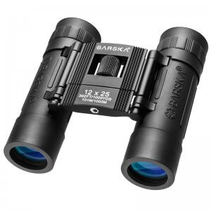 12x25mm Lucid View Compact Binoculars by Barska