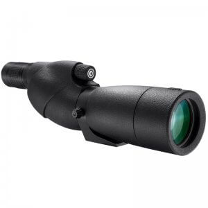 BARSKA 20-60x 65mm WP Level Straight Spotting Scope