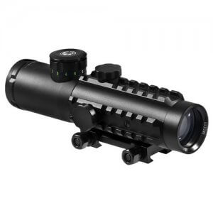 4x30mm IR Electro Sight Multi-Rail Tactical Rifle Scope By Barska