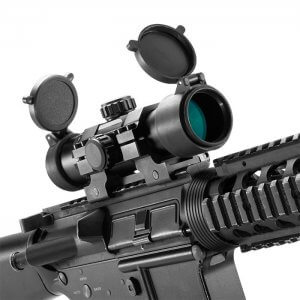 1x30mm Dual Color Green / Red Dot Scope w/ Mount by Barska