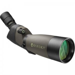 20-60x80mm WP Blackhawk Spotting Scope Angled By Barska