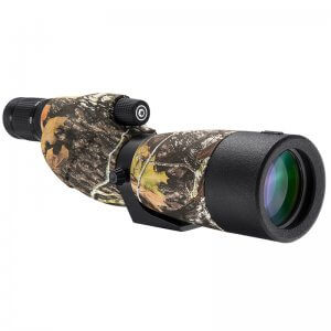 20-60x65mm WP Level Straight Mossy Oak® Break-Up® Camo Spotting Scope By Barska